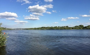 3 километра от живописного берега Оки